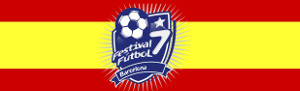 Barcelona football 7 festival